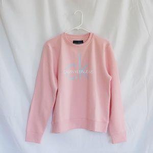 Calvin Klein pink sweater (L)